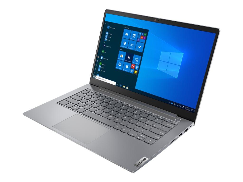 "Lenovo ThinkBook 14 G2 ITL 20VD - Core i5 1135G7 / 2.4 GHz - Win 10 Pro 64-Bit - 8 GB RAM - 256 GB SSD NVMe - 35.6 cm (14"")"