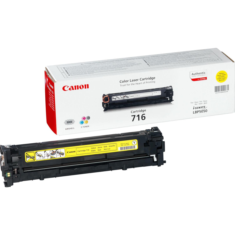 Canon 716 Y Laser cartridge 1500Seiten Gelb