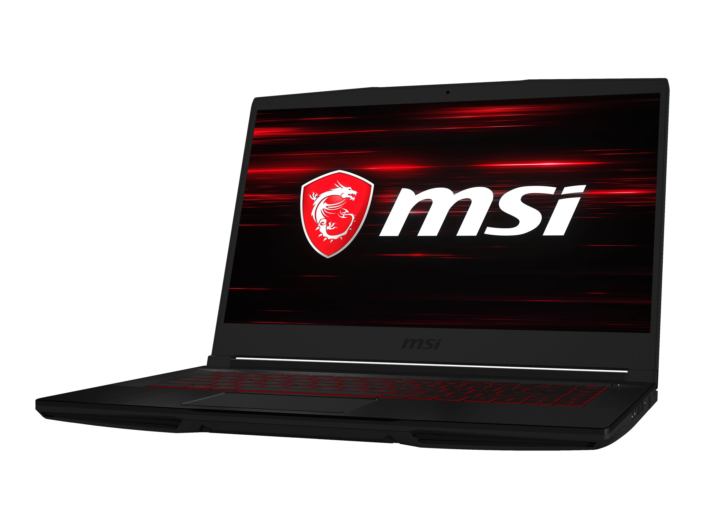 "MSI GF63 9SC 662 Thin - Core i5 9300H / 2.4 GHz - Windows 10 Home - 8 GB RAM - 512 GB SSD NVMe - 39.6 cm (15.6"")"