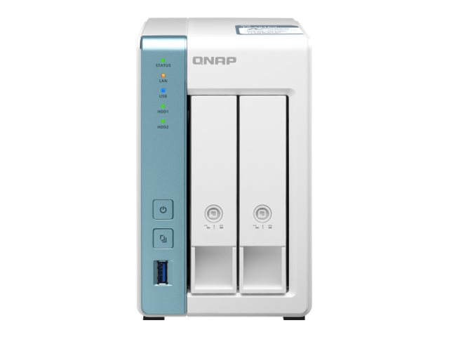 QNAP TS-231P3 - NAS-Server - 2 Schächte - SATA 6Gb/s