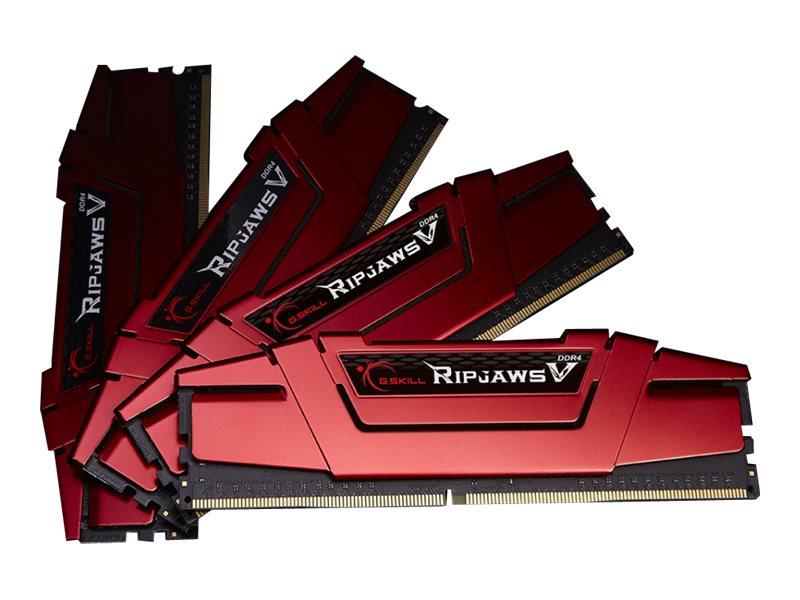 G.Skill Ripjaws V - DDR4 - kit - 64 GB: 4 x 16 GB