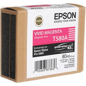 Epson C13T580A00 - Druckerpatrone - 1 x Vivid Magenta