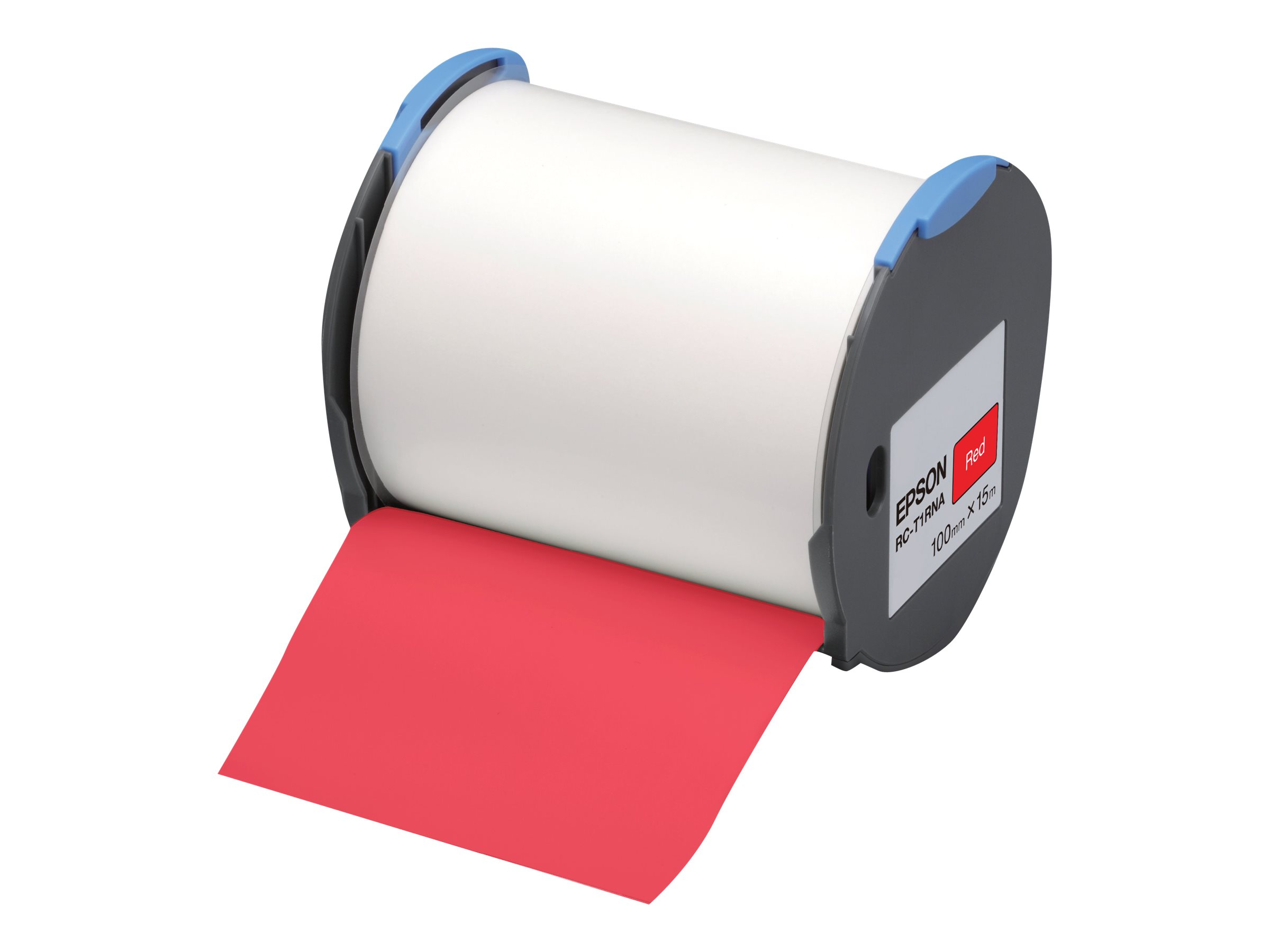 Epson RC-T1RNA - Polyolefin - selbstklebend - Rot - Rolle (10 cm x 15 m)