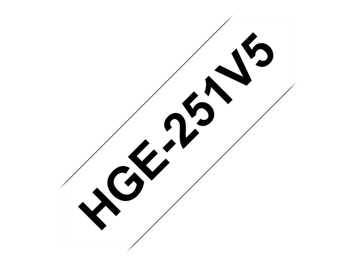 Brother HGE251V5 - Schwarz auf Weiß