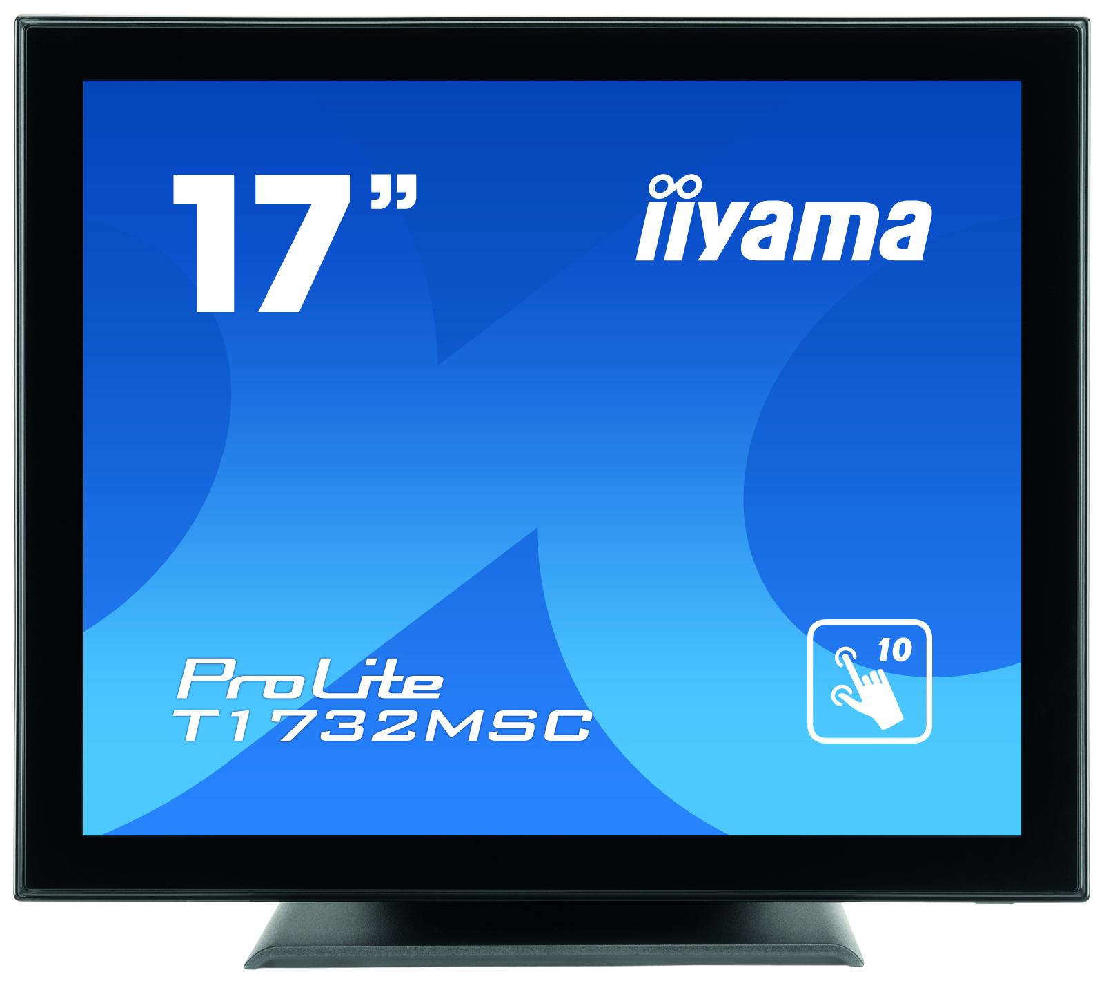 Iiyama ProLite T1732MSC-B1X 17Zoll 1280 x 1024Pixel Multi-touch Multi-Nutzer Schwarz Touchscreen-Monitor