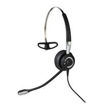 Jabra Biz 2400 II QD Mono NC 3 in 1 Monophon Ohrbügel - Kopfband - Nackenband Schwarz - Silber Headset