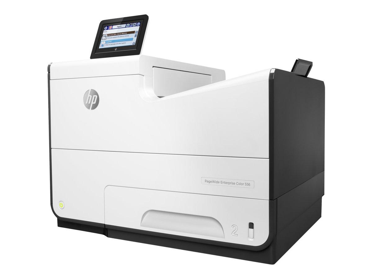HP PageWide Enterprise Color 556dn - Drucker - Farbe - Duplex - seitenbreite Palette - A4/Legal - 1200 x 1200 dpi - bis zu 75 Seiten/Min. (einfarbig)/