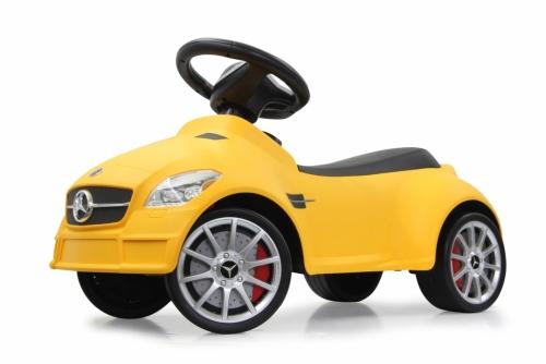 JAMARA Mercedes SLK55AMG - Auto - Junge/Mädchen - Gelb - Innen & Außen - Feste Räder - 298 mm
