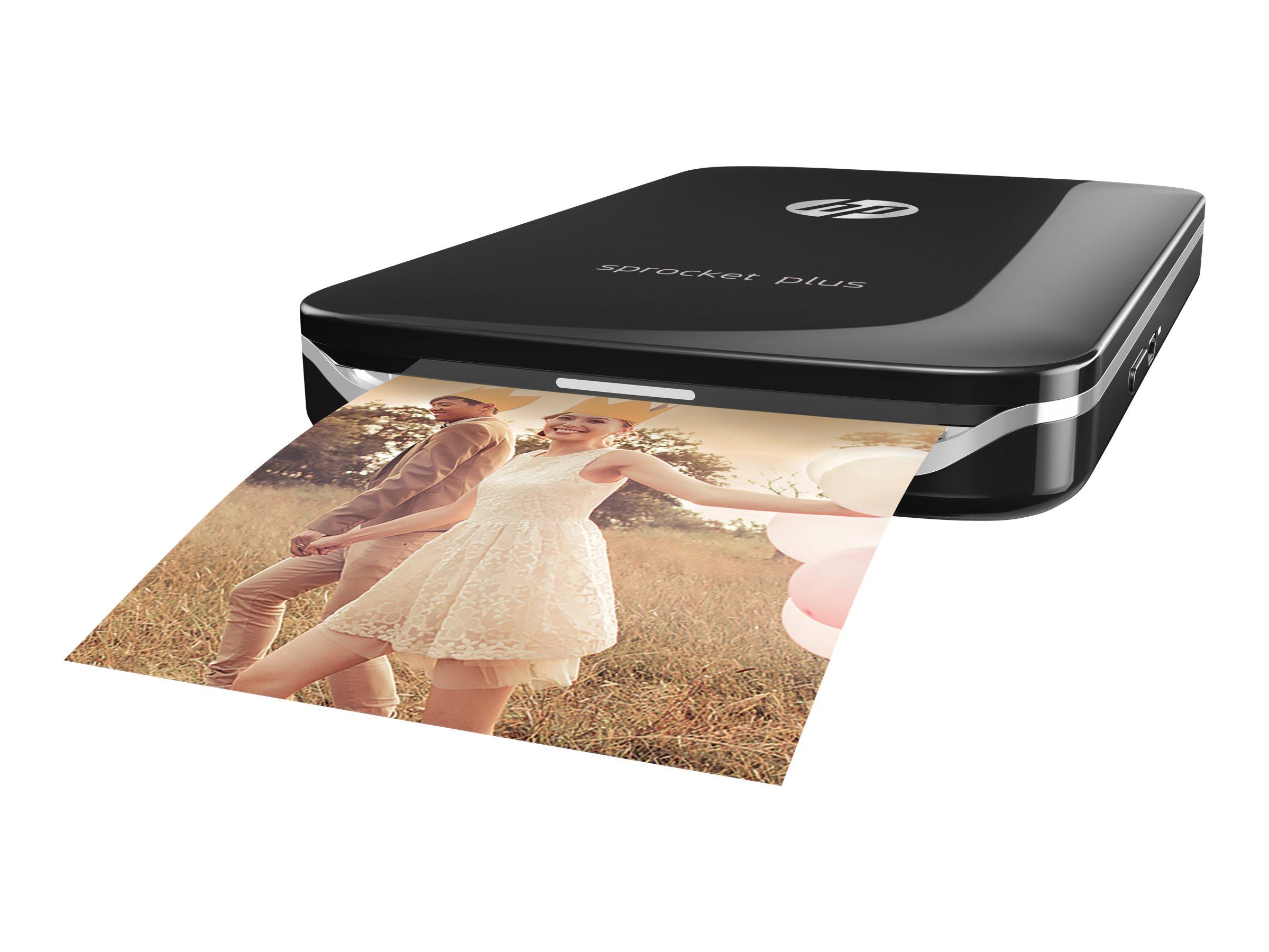 HP Sprocket Plus Photo - Drucker - Farbe - Zink - 58 x 87 mm bis zu 1.13 Min./Seite (Farbe)