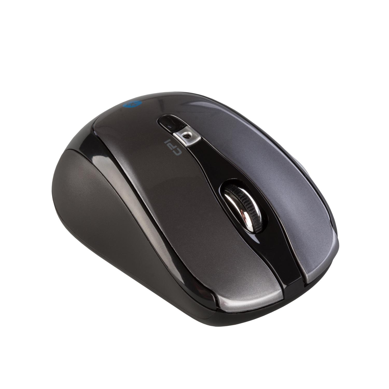itec Bluetooth Travel Optical Mouse Ambidextrous Optical Bluetooth 1600 DPI Black