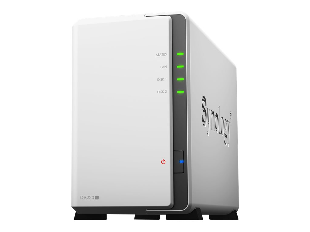 Synology Disk Station DS220j - NAS-Server - 2 Schächte