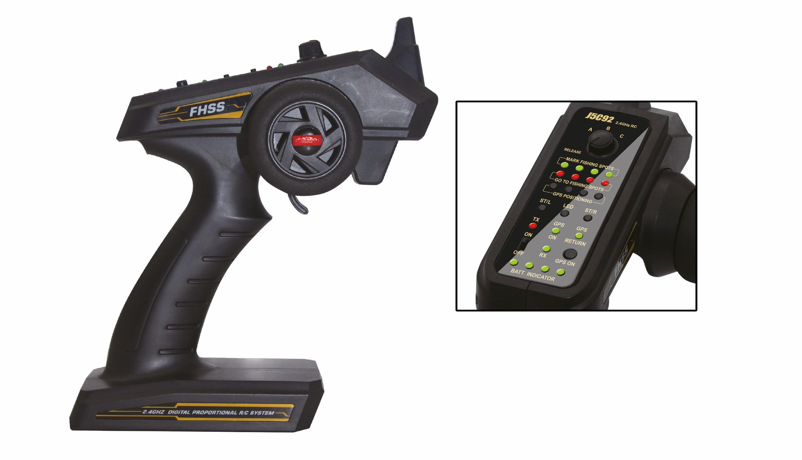 Amewi Baiting 2500 GPS - Betriebsbereit (RTR) - Junge - Boot