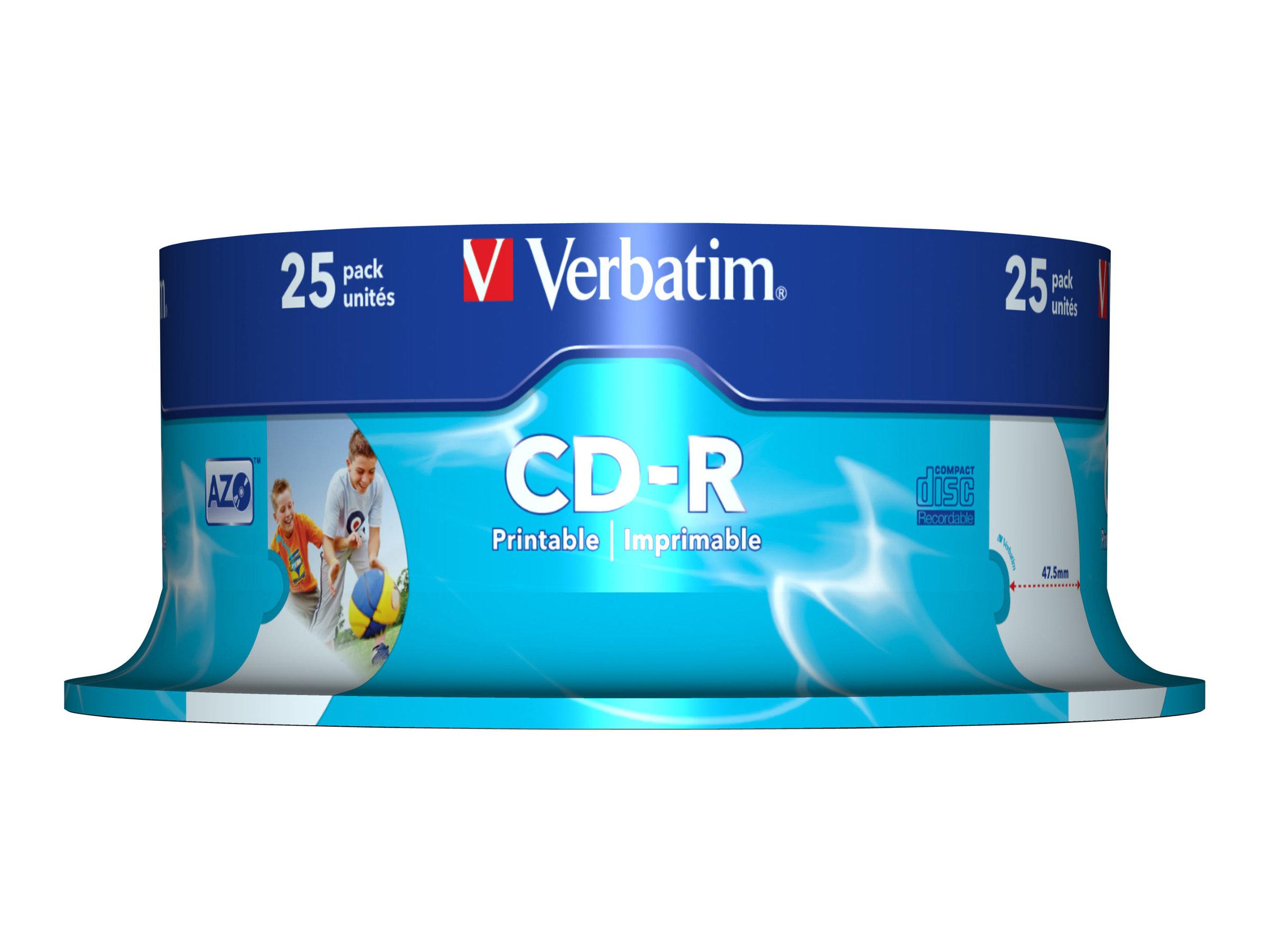 Verbatim DataLifePlus - 25 x CD-R - 700 MB 52x