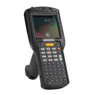 Motorola Solutions Zebra MC3200 Handheld Mobile Computer 7,62 cm (3 Zoll) 320 x 320 Pixel Touchscreen 509 g Schwarz