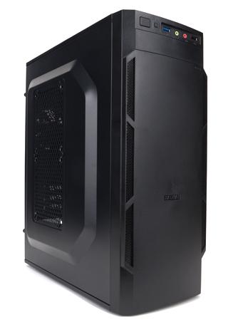 Zalman ZM-T1 PLUS Mini-Tower Schwarz Computer-Gehäuse