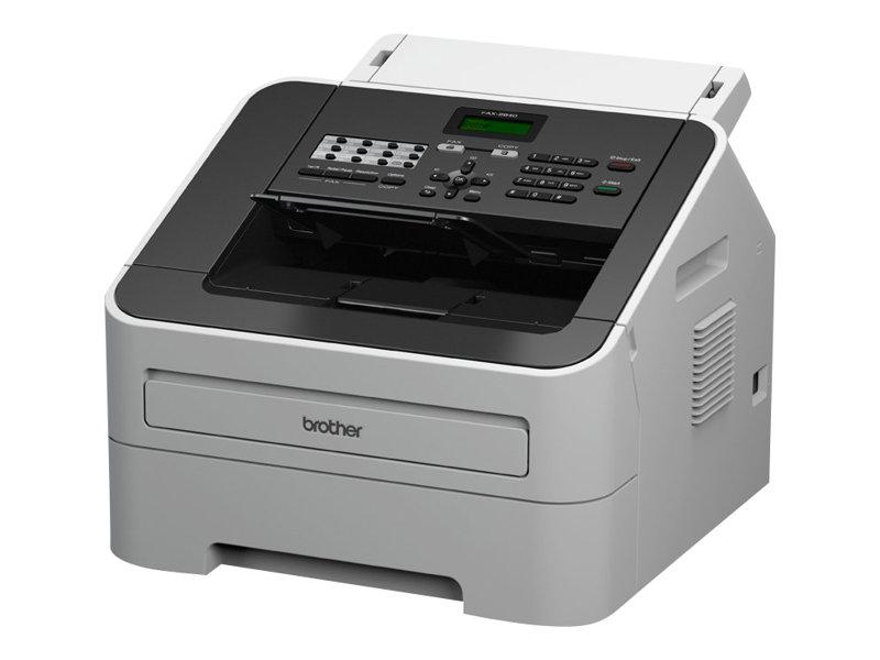 Brother FAX-2840 - Faxgerät / Kopierer - s/w - Laser - 215.9 x 355.6 mm (Original)