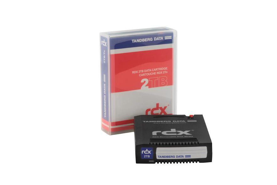 Tandberg RDXMedium 8807RDX 3 TB 1 Stück Magnetbandtyp: RDX Speicherkapazität total: 3 TB