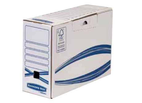 Fellowes 4460101 - Verpackungsbox - Lagerung - Karton - Blau - Weiß - Rechteck - Forest Stewardship Council (FSC)