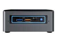 NUC NUC7i3BNHXF 2.4GHz i3-7100U Nettop Schwarz - Grau Mini-PC