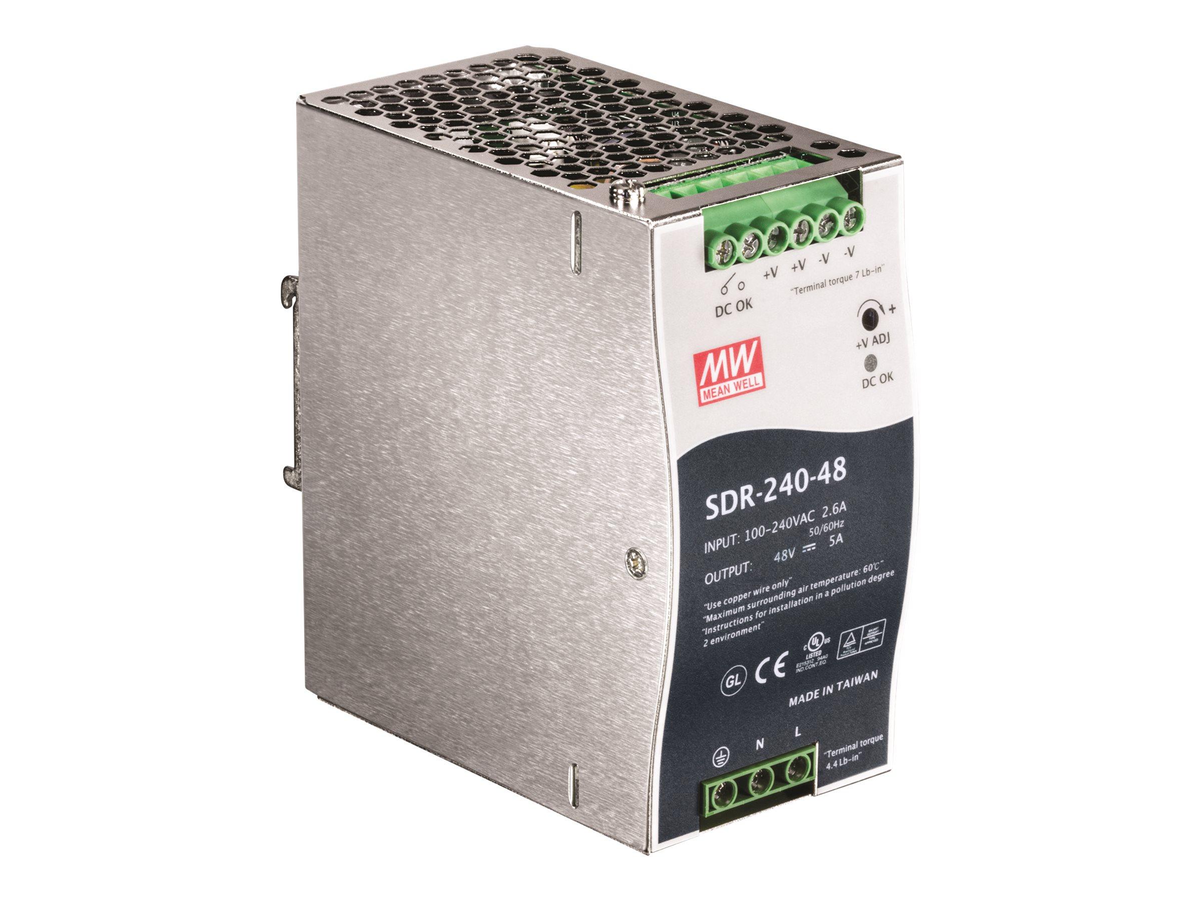 TRENDnet TI-S24048 - Stromversorgung (DIN-Schienenmontage m?glich)