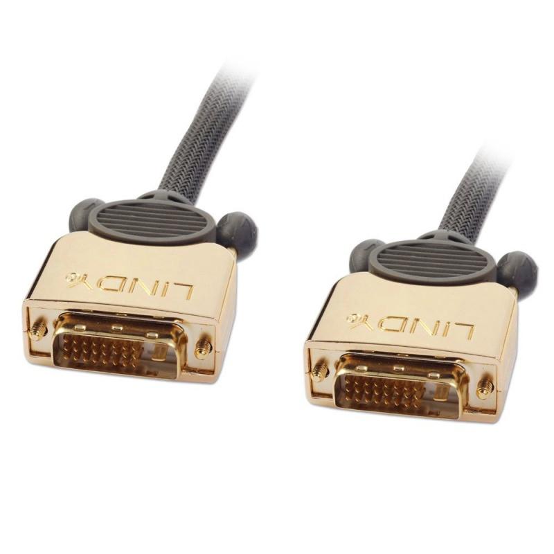 Lindy Gold - DVI-Kabel - Dual Link