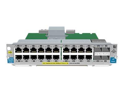 HP 20-port GT PoE+/4-port SFP v2 zl Module (J9535A)