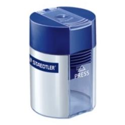 STAEDTLER 511 001 - Manueller Bleistiftspitzer - Blau - Silber - Stahl - 8,2 mm