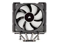 Corsair A500 - Prozessor-Luftkühler - (für: LGA1156, AM3, LGA1155, LGA2011, FM1, FM2, LGA1150, LGA2011-3, LGA1151, AM4, LGA2066, LGA1200)