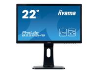 ProLite B2282HS-B1 21.5Zoll Full HD LED Matt Flach Schwarz Computerbildschirm