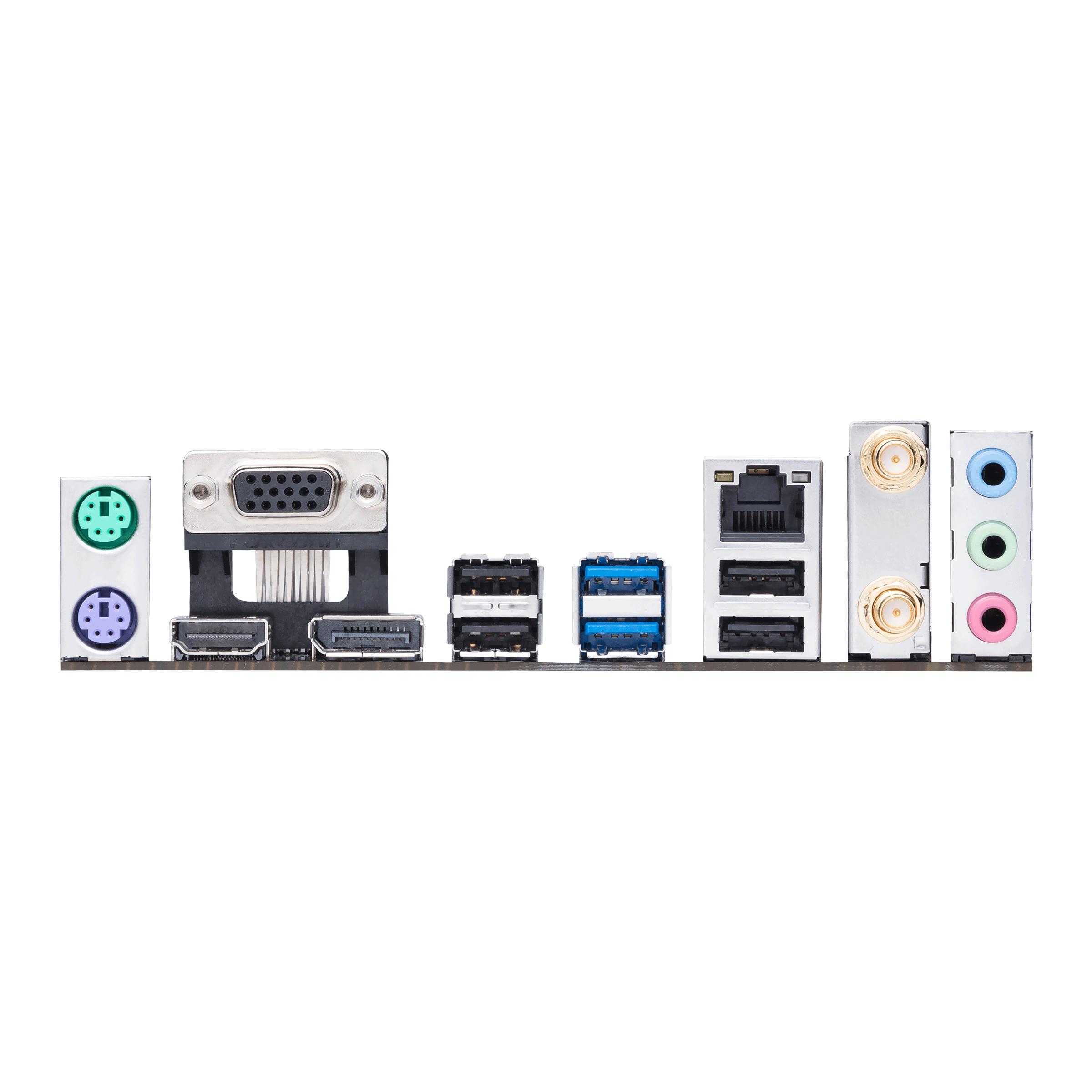 ASUS PRIME H510M-A WIFI - Motherboard - micro ATX - LGA1200-Sockel - H510 - USB 3.2 Gen 1 - Gigabit LAN, Wi-Fi, Bluetooth - Onboard-Grafik (CPU erforderlich)