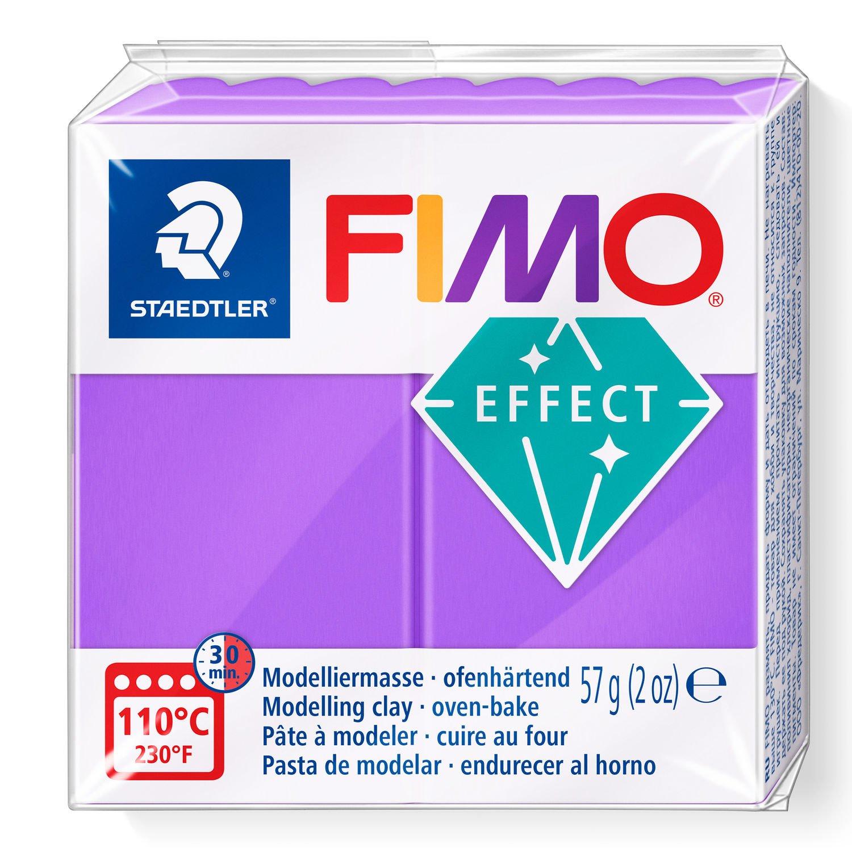 Vorschau: STAEDTLER FIMO 8020 - Knetmasse - Violett - Durchscheinend - Erwachsene - 1 Stück(e) - 1 Farben - 110 °C