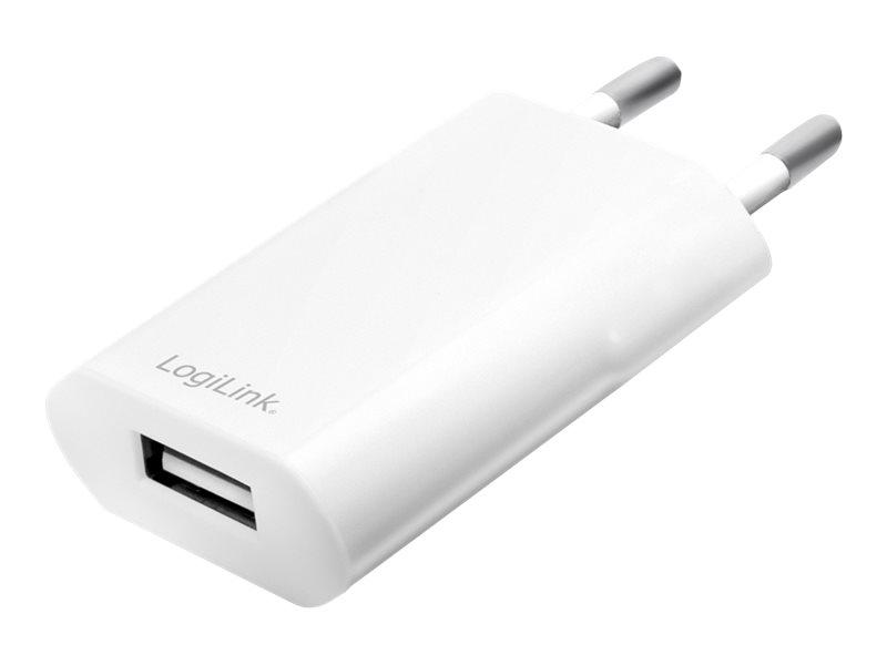 LogiLink USB wall charger - Netzteil - 5 Watt - 1 A (USB)