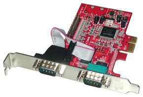 Lindy 2S1P Seriell-/Parallel-Karte PCIe - Zubehör PC
