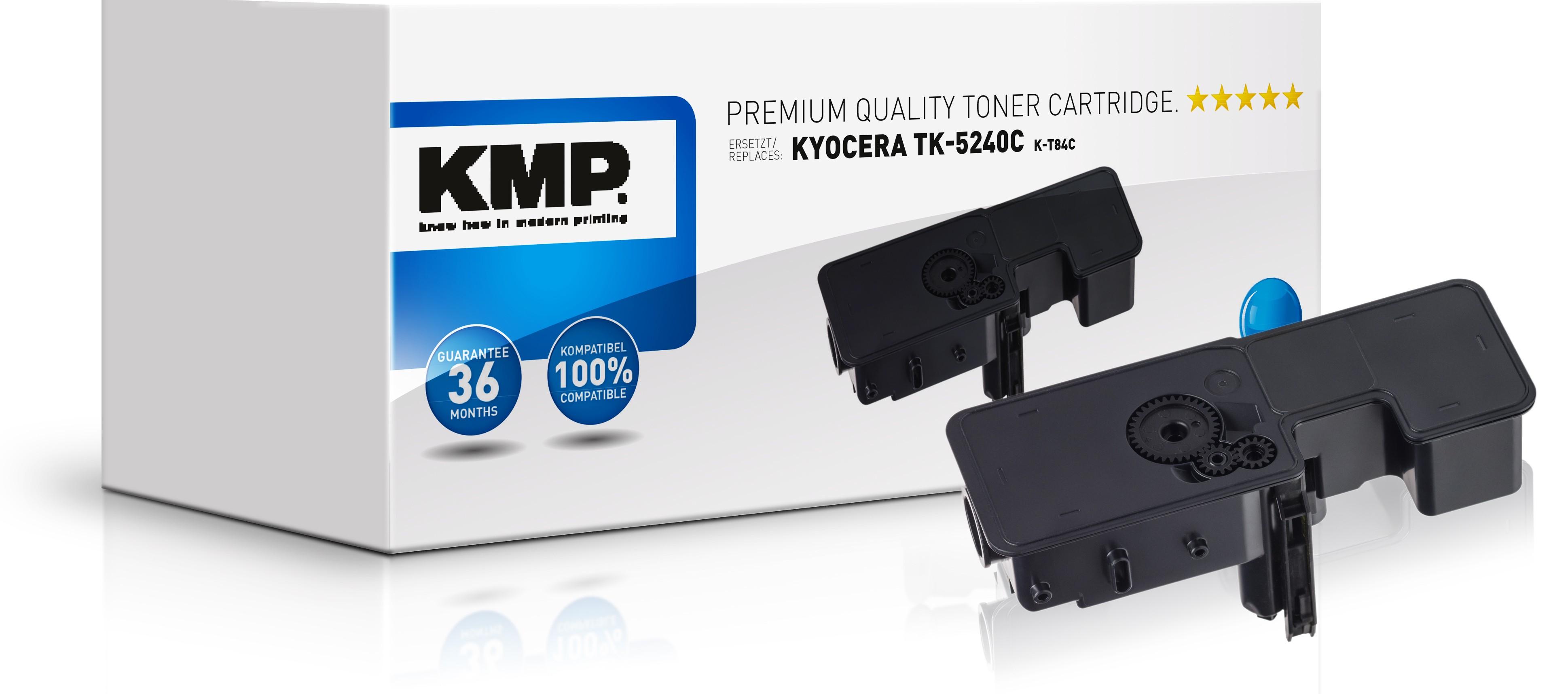 KMP K-T84C - 3000 Seiten - Cyan - 1 Stück(e)