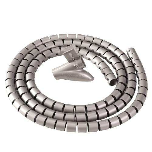 Fellowes CableZip - Kabelordner - Kunststoff - silber