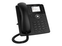 D735 IP-Telefon Schwarz Wired & Wireless handset TFT