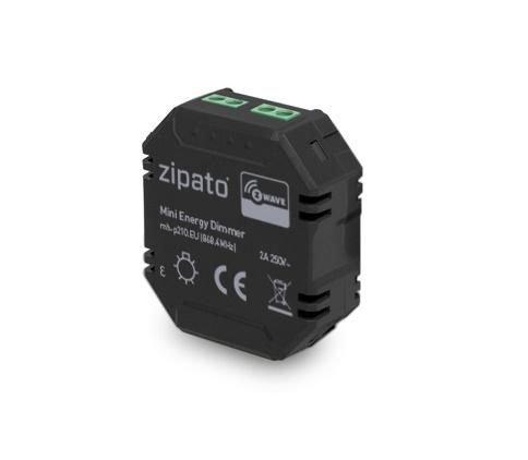 Zipato MH-P210.EU - Dimmer - 30 m - 70 m - Extern - Schwarz - EMC 2004/108/EC - R&TTE 1995/5/EC - LVD 2006/95/EC - FCC Part 15