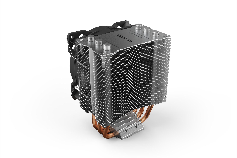 Be Quiet! Pure Rock Slim 2 - Prozessor-Luftkühler - (für: LGA1155, AM3+, LGA1150, LGA1151, AM4, LGA1200)