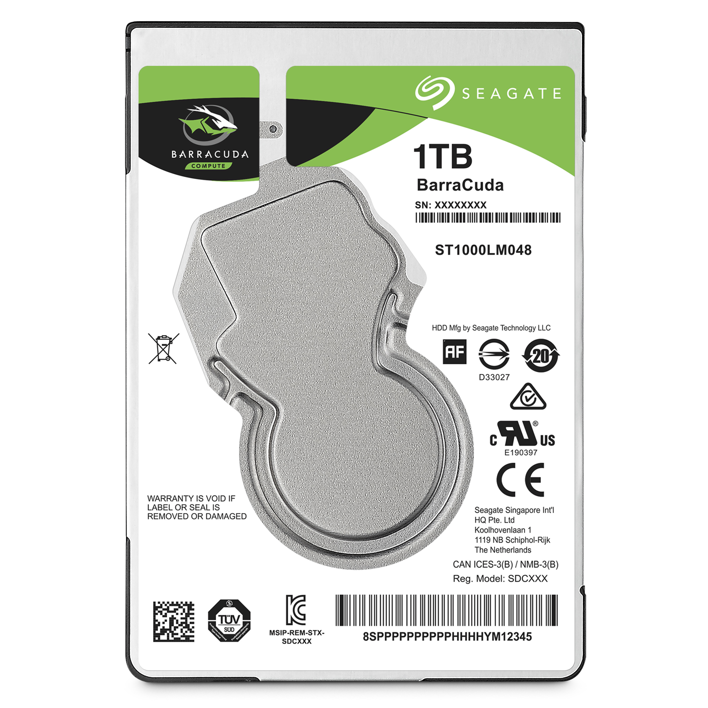 Seagate Guardian BarraCuda ST1000LM048
