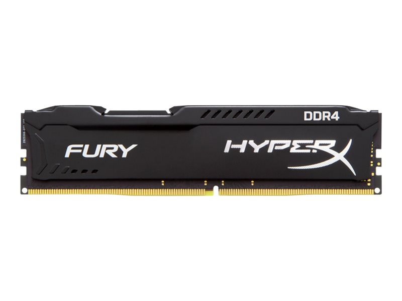 Kingston HyperX FURY - DDR4 - 16 GB - DIMM 288-PIN - 3200 MHz / PC4-25600 CL18 - 1.2 V - ungepuffert - non-ECC - Schwarz