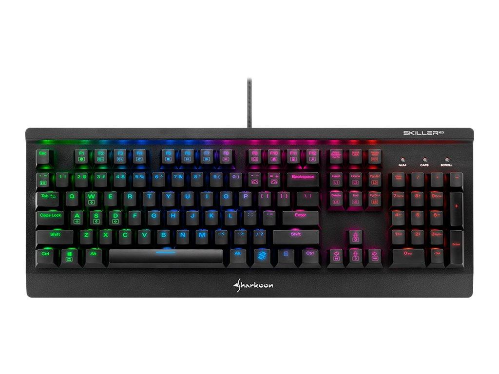 Sharkoon Skiller MECH SGK3 - Tastatur - backlit