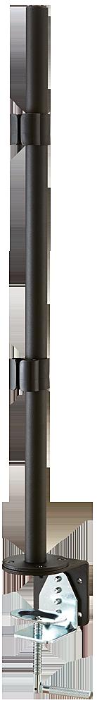 Lindy Desk Clamp Pole - Montagekomponente - Metall, Aluminium