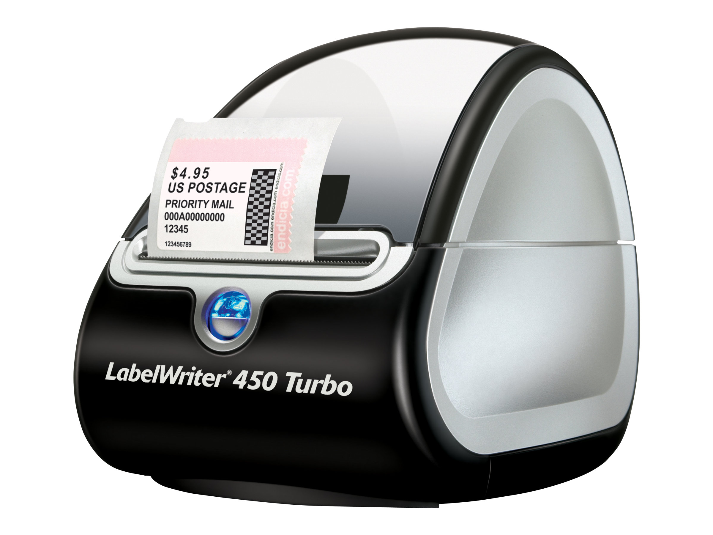 Dymo LabelWriter 450 Turbo - Etikettendrucker - Thermodirekt - Rolle (6,2 cm)