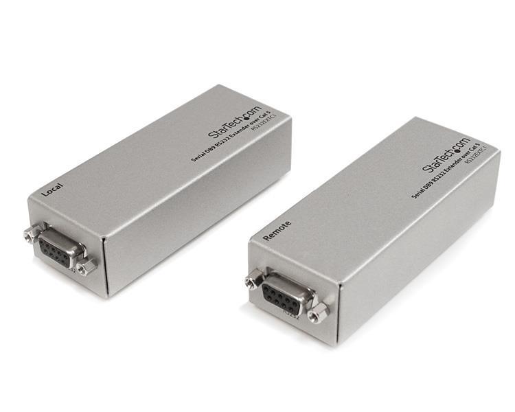 StarTech.com Serieller DB9 RS232-Extender über Cat5 - Bis zu 1000Meter