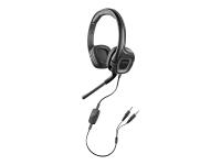 .Audio 355 Multimedia Headset Binaural Kopfband Schwarz Headset