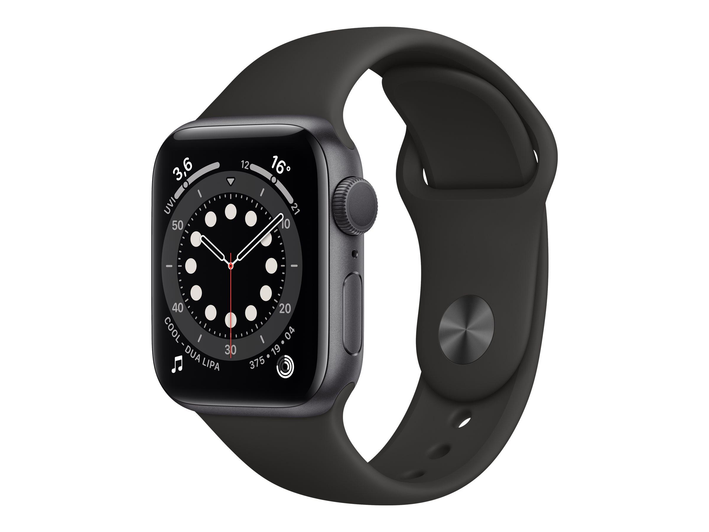 Apple Watch Series 6 (GPS) - 40 mm - Weltraum grau Aluminium