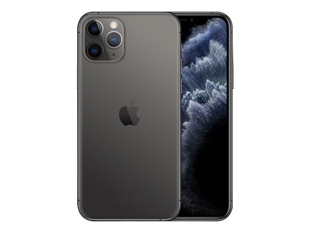 "Apple iPhone 11 Pro - Smartphone - Dual-SIM - 4G Gigabit Class LTE - 512 GB - GSM - 5.8"" - 2436 x 1125 Pixel (458 ppi (P"