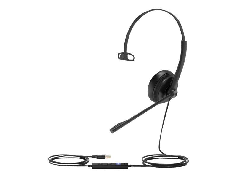 Yealink UH34 Mono UC - Headset - On-Ear - kabelgebunden - USB