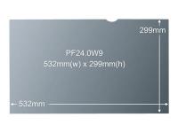 """Blickschutzfilter für 24"""" Breitbild-Monitor - Monitor - Rahmenloser Display-Privatsphärenfilter - Schwarz - Kunststoff - Schwarz - Durchscheinend - Anti-Glanz"""
