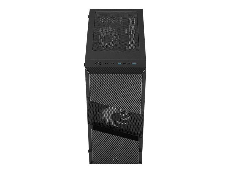 Vorschau: AEROCOOL ADVANCED TECHNOLOGIES AeroCool Menace Saturn RGB - Tempered Glass Edition - Tower - ATX - ohne Netzteil (ATX)
